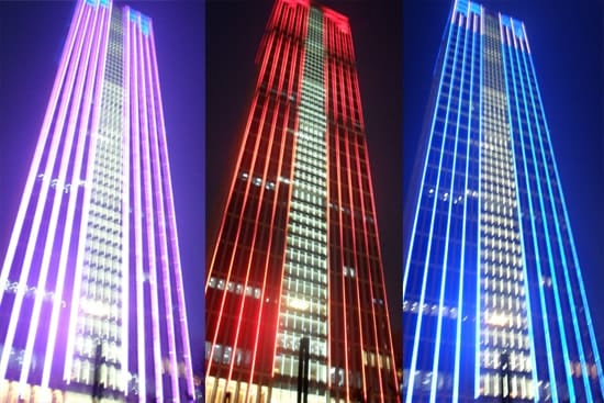 led building lighting - loop media